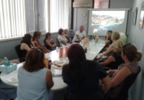 Posjeta stomatologa iz Švedske u OB Dubrovnik