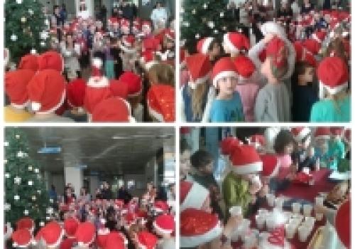 Najmlađi kolendari čestitali božićne blagdane