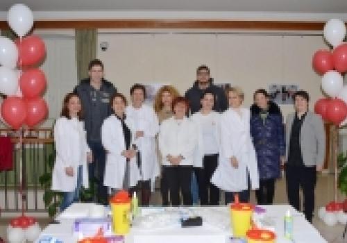 Uspješno održana akcija upisa dobrovoljnih darivatelja krvotvornih matičnih stanica u…